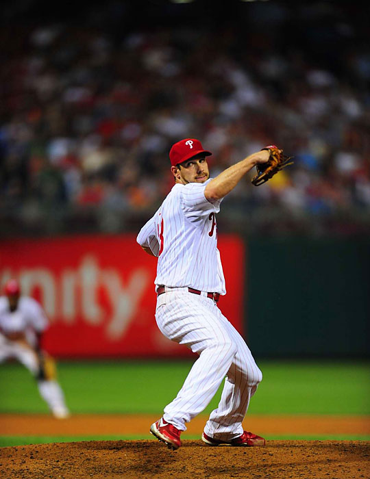 The Phillies' southpaw led the league with six shutouts in 2011, also boasting a 17-8 record and 2.40 ERA. Lee and the Phillies were edged out in the Divisional Series by St. Louis, the eventual World Series champion.