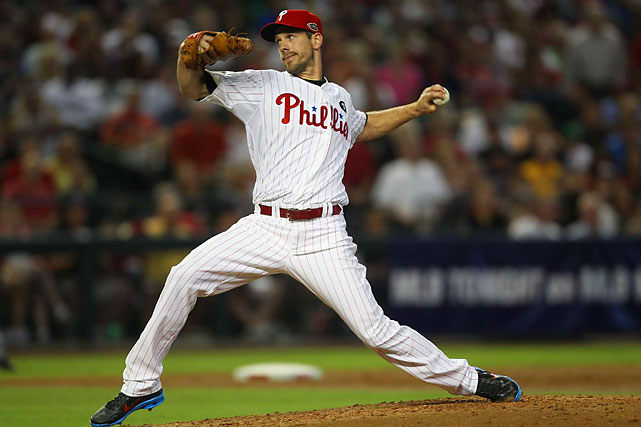Lee pitched well to start 2012, but did not win a start until July 4. While Lee went 6-9, he recorded 211 innings with a 3.16 ERA.