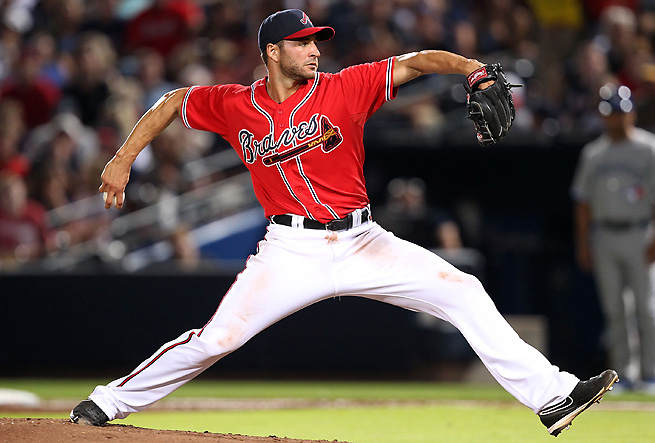 Brandon Beachy won't return this Tuesday from elbow ligament-replacement surgery.