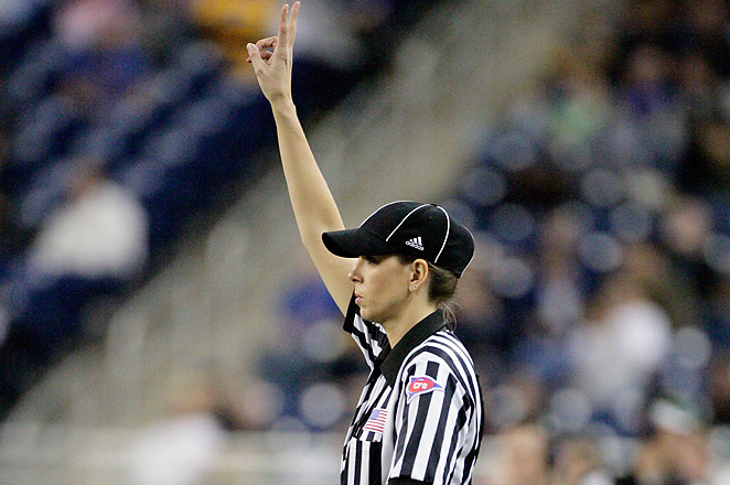 Sarah Thomas could take on the role as a permanent official in the NFL as early as the 2014 season.