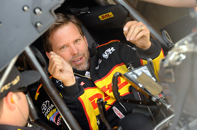 Del Worsham broke the Bristol record by reaching a mind-boggling 314.83 MPH in his Toyota Camry.