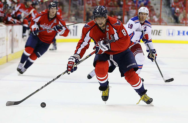 Alex Ovechkin beat out Pittsburgh's Sidney Crosby and John Tavares of the New York Islanders.