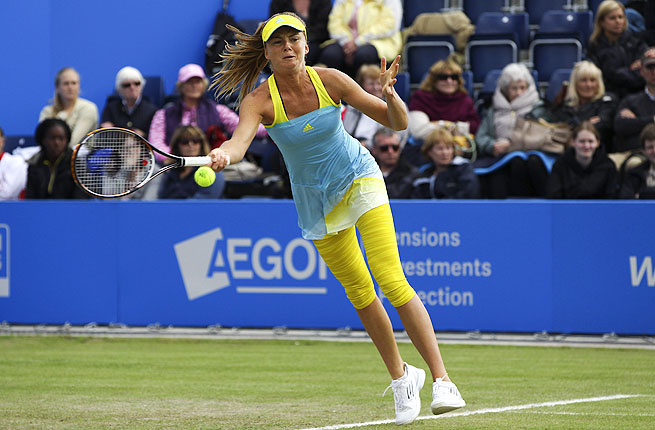 The 60th-ranked Hantuchova went ahead 5-2 in the tiebreaker and held off Vekic's comeback.