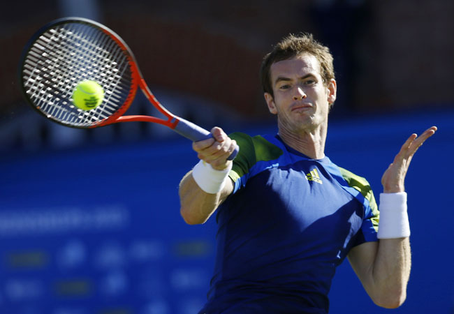 It is the 27th career title for Andy Murray, who also claimed the Queen's Club trophy in 2009 and 2011.