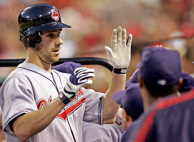 The Indians southpaw threw consecutive 200-inning seasons in 2005 and 2006. He also received props from his teammates after laying down a successful sacrifice bunt against the Cardinals in this June 2006 game.
