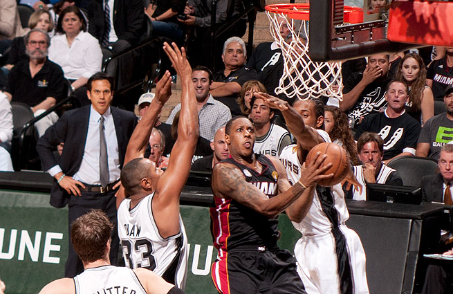 Mario Chalmers finished with seven points on 2-of-10 shooting in the Heat's Game 5 loss.