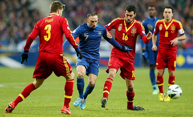Either Spain or France will be forced into a playoff to get into the World Cup.
