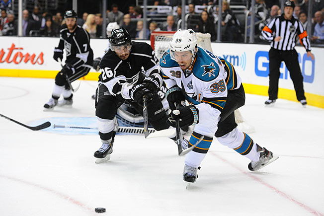 All-around center Logan Couture has steadily emerged as a young leader of the Sharks.