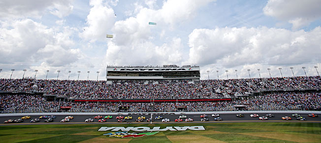 Daytona International Speedway's aging grandstands will be given a modern new look.