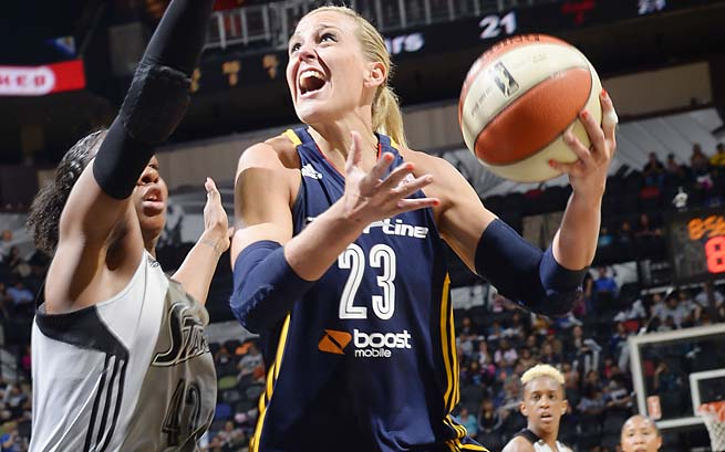 Katie Douglas is a four-time WNBA All-Star.