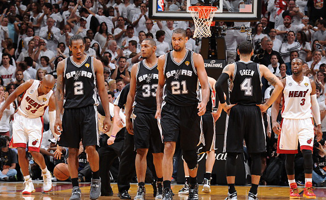 The Spurs were seconds away from an NBA title on Tuesday night, but they couldn't knock off the Heat.