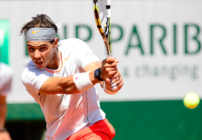 With the No. 5 seed, Rafael Nadal may face Roger Federer, Novak Djokovic or Andy Murray in the quarterfinals.
