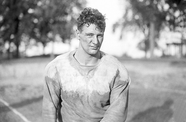 Gehrig played fullback at Columbia during the 1922 season.