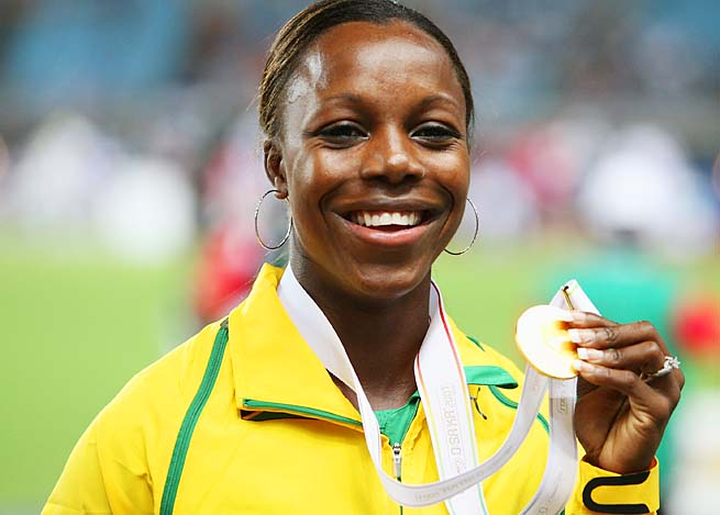 Veronica Campbell-Brown is the second most decorated Jamaican in Olympic history.