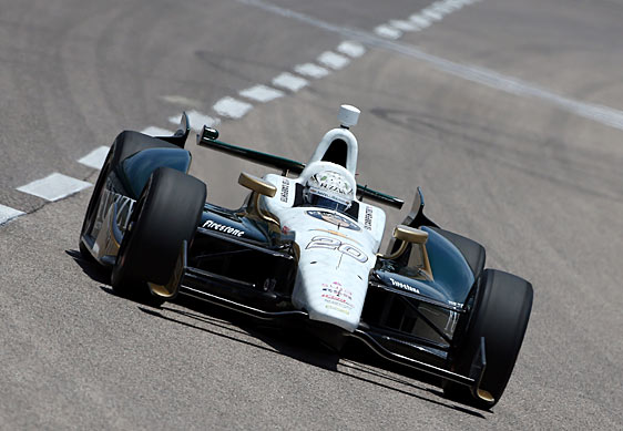 Ed Carpenter has run well at Iowa, with three the top 10 finishes, including a best of sixth in 2007.