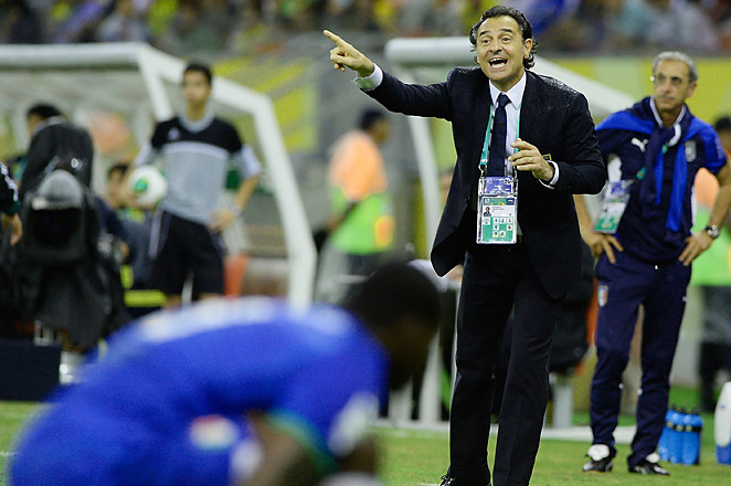 Cesare Prandelli says the intense heat in Brazil is adding to the exhaustion of his Italian players.