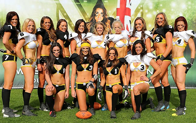 At Legends Football League media day in Perth. May the Cleveland Browns look as good this season.