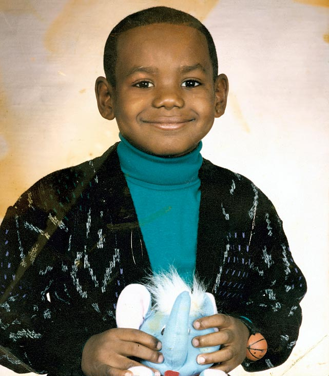 Here's a look at some great shots of four-time MVP, 2012 <italics>Sports Illustrated</italics> Sportsman of the Year, and back-to-back Finals MVP LeBron James, from his days as a mischievous little boy to now.