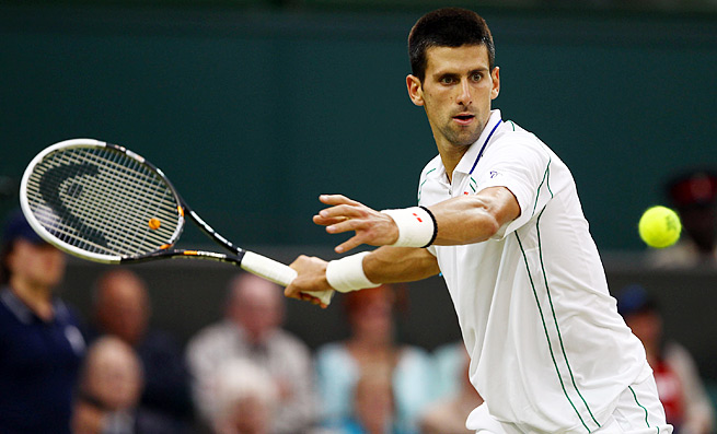 Novak Djokovic is seeking his second Wimbledon title and seventh major title overall.