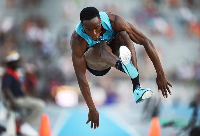 William Claye earned a trip to the worlds by taking second in the triple jump.