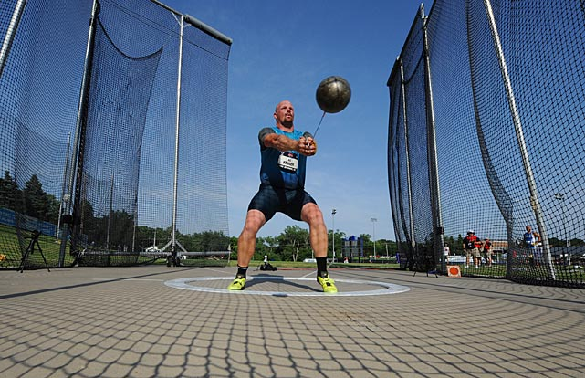 A.G. Kruger claimed the national title in the hammer throw nearly two decades after he made his athletic debut in Des Moines.