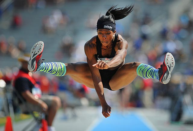SI's best shots from the U.S. Track and Field National Championships in Des Moines, Iowa.