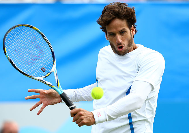 Feliciano Lopez will go into Wimbledon with confidence after winning his third career title.