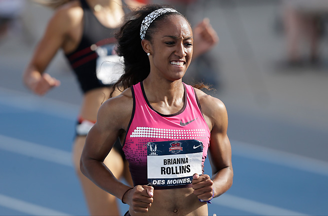 Brianna Rollins blew away the competition on Saturday and positioned herself as an elite American hurdler.