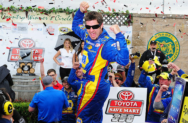 It was just the second win of Martin Truex's career and the first since Dover in 2007.