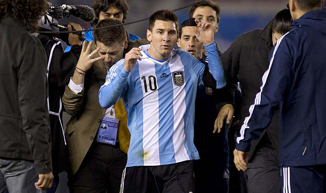 Lionel Messi and Argentina lead CONMEBOL World Cup qualifying.