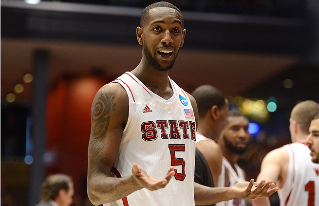 NC Stare forward C.J. Leslie is talented, but his inconsistency could be a cause for concern at the NBA level.