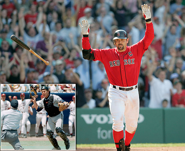 The former Boston Red Sox captain led the Georgia Tech Yellow Jackets to the title game in 1994, where they ultimately fell short, losing to Oklahoma 13-5. Varitek still holds Georgia Tech career records for games played, runs scored, base hits and doubles, and he is the only Yellow Jacket to have his number (33) retired.