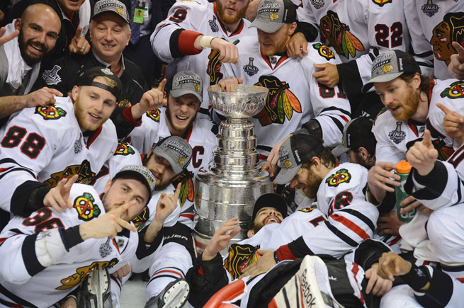 The best team during the regular season, Chicago rode its cohesive play to an exciting Stanley Cup win.