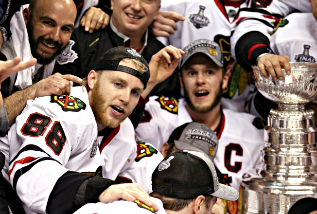 Chicago's Patrick Kane and Jonathan Toews should get another sniff of the Stanley Cup before too long.