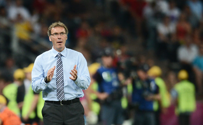 Laurent Blanc stepped down as France's manager after Les Bleus lost in the Euro 2012 quarterfinals.