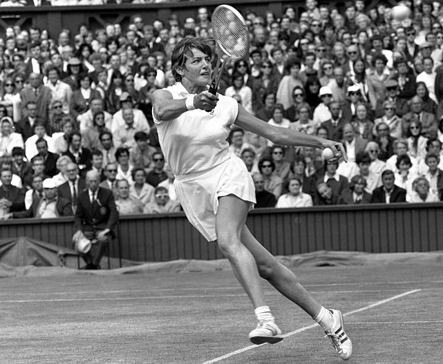 In 1970, Court used a Slazenger to win all four Grand Slam titles. Slazenger has also supplied the balls for Wimbledon since 1902.