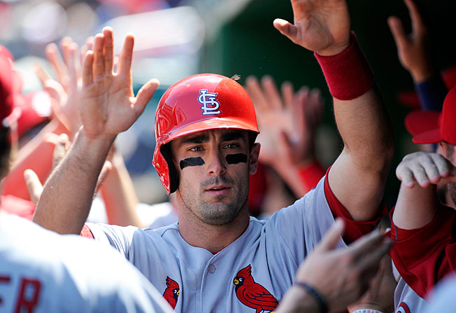 Matt Carpenter, once the 399th pick in the 2009 draft, is currently second in the NL in runs scored (56).