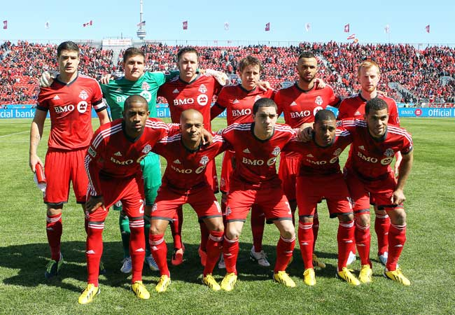 Toronto FC has never before made the MLS playoffs -- and has never been bet on by George Dempsey.