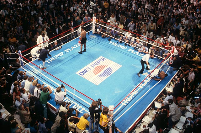 The fight -- which, at the time, was the richest in boxing history, grossing roughly $70 million -- earned Tyson a purse of around $20 million. Spinks, despite the loss, walked away with $13.5 million.