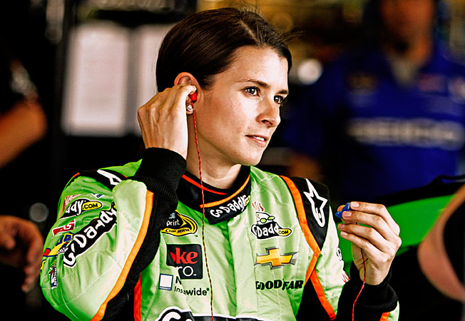 Danica Patrick's used to getting an earful from naysayers and she isn't fazed by Kyle Petty.