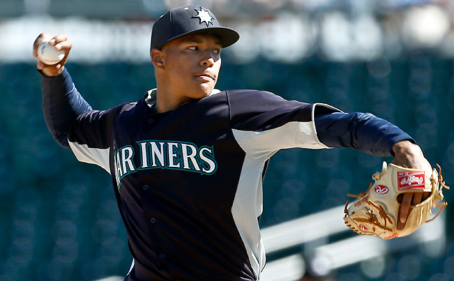 Mariners' prospect Taijuan Walker is one of three regarded pitchers that could contribute in Seattle soon.