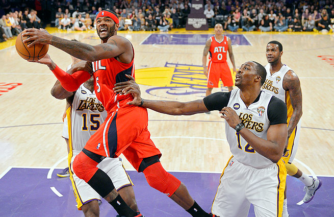 Josh Smith (left) and Dwight Howard intend to explore their options in free agency this summer.