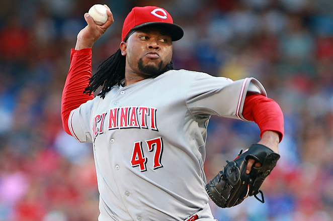 Cueto has already been on the DL this season for a strained right lat and a strained right shoulder.
