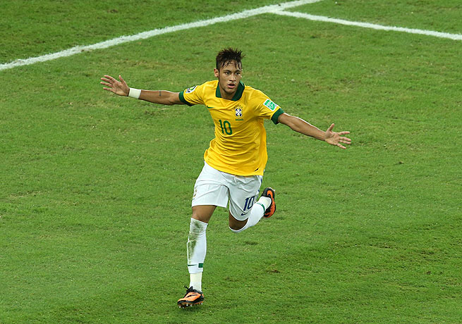 Neymar capped his Confederations Cup with a goal against Spain as Brazil took the title.