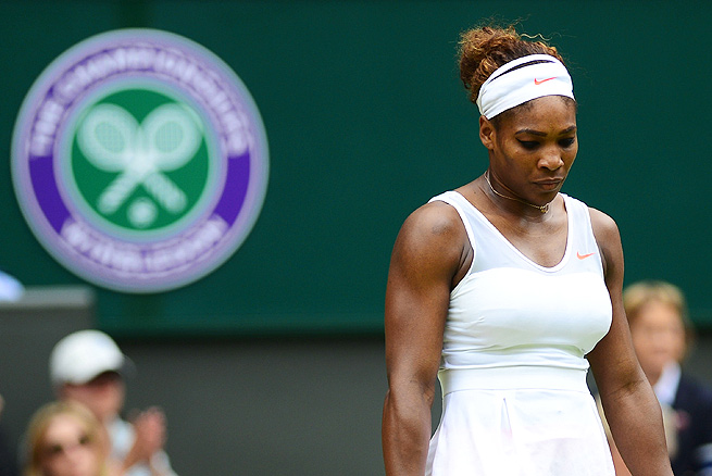 Serena Williams hasn't made it past the fourth round in four of the five Grand Slams in which Venus Williams hasn't started.
