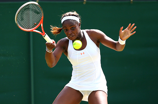 So far this year, Sloane Stephens has made it to the second week of every Grand Slam.