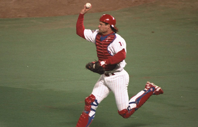 Darren Daulton played 15 seasons during his career, mostly with the Phillies.