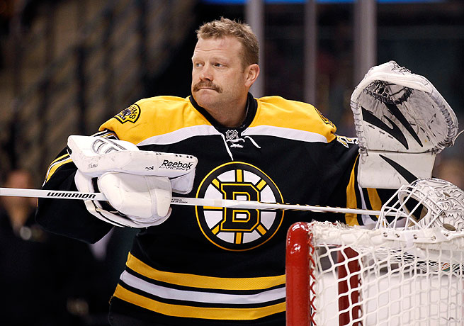 Tim Thomas, who won the Vezina and Conn Smythe trophies in 2011, did not play during the 2013 season.