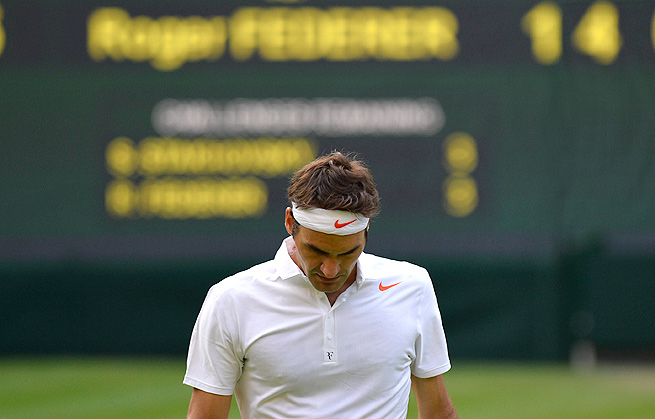 No one expected for Roger Federer's Wimbledon demise to come at the hands of Sergiy Stakhovsky.