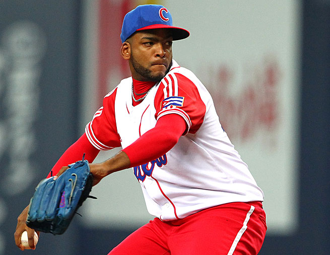 Odrisamer Despaigne, 26, had a 5-2 record in 12 starts last season.